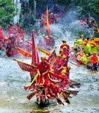 Gelukkig Dragon Boat Festival Stock Foto's