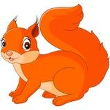 Gelukkig eekhoornbeeldverhaal stock illustratie
