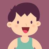Gelukkig en Gezond Little Boy royalty-vrije illustratie