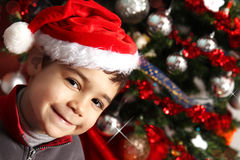 Gelukkig en glimlachend kind royalty-vrije stock foto's