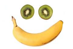 Gelukkig Fruit Stock Foto