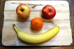 Gelukkig Fruit royalty-vrije stock fotografie