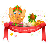 Gelukkig Ganesh Chaturthi Royalty-vrije Stock Foto
