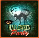 Gelukkig Halloween. royalty-vrije illustratie