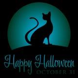 Gelukkig Halloween! Stock Foto's