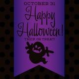 Gelukkig Halloween! Stock Afbeeldingen