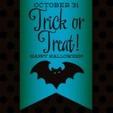 Gelukkig Halloween! Royalty-vrije Stock Afbeelding