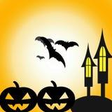 Gelukkig Halloween, Halloween-dag stock illustratie