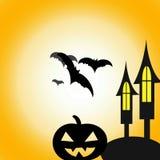 Gelukkig Halloween, Halloween-dag royalty-vrije illustratie