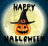 Gelukkig Halloween hanwritten Royalty-vrije Stock Afbeelding