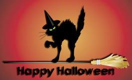 Gelukkig Halloween teken Vector Illustratie