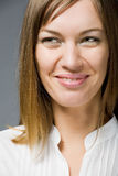 Gelukkig het glimlachen gezicht Royalty-vrije Stock Fotografie