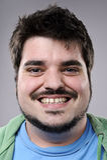 Gelukkig het glimlachen portret Stock Afbeelding