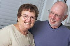 Gelukkig Hoger Volwassen Paar