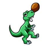 Gelukkig Hongerig T Rex stock illustratie