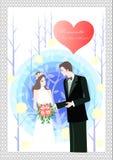 Gelukkig Huwelijk Royalty-vrije Stock Foto's