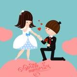 Gelukkig huwelijk Stock Afbeeldingen