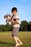 Gelukkig jong kind Stock Foto's