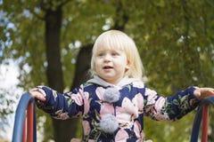 Gelukkig kind in het park Stock Fotografie