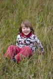Gelukkig lachend meisje Stock Afbeelding