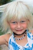 Gelukkig meisje royalty-vrije stock afbeeldingen