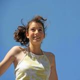 Gelukkig meisje royalty-vrije stock foto