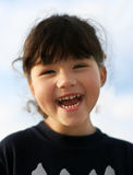 Gelukkig meisje Stock Foto's