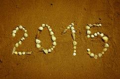 gelukkig nieuw het jaarconcept van 2015 Royalty-vrije Stock Afbeelding