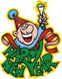 Gelukkig nieuw jaar Stock Fotografie