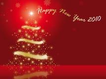 Gelukkig nieuw jaar 2010 Stock Foto
