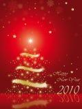 Gelukkig nieuw jaar 2010 Stock Foto's