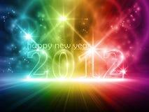 Gelukkig nieuw jaar 2010 Royalty-vrije Stock Foto's