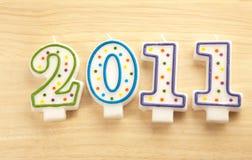 Gelukkig nieuw jaar 2011 Royalty-vrije Stock Foto's