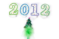 Gelukkig nieuw jaar 2012 Stock Foto