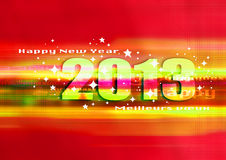 Gelukkig nieuw jaar 2013 Royalty-vrije Stock Foto's