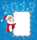 Gelukkig nieuw jaar 2013. Kerstmis. De Kerstman Stock Fotografie