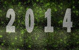 Gelukkig nieuw jaar 2014 Stock Afbeeldingen