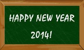 Gelukkig nieuw jaar 2014 Royalty-vrije Stock Foto