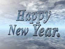 Gelukkig nieuw jaar. Stock Afbeelding