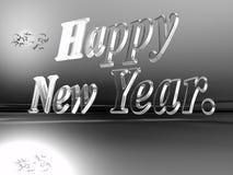 Gelukkig nieuw jaar. Stock Afbeeldingen