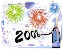 Gelukkig nieuw jaar Stock Afbeelding