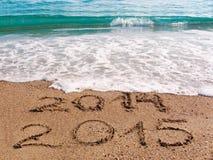 Gelukkig nieuw jaar 2015 Stock Foto's