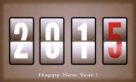 Gelukkig nieuw jaar 2015 Royalty-vrije Stock Afbeelding