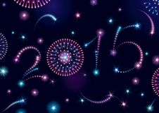 Gelukkig nieuw Jaar 2015! Royalty-vrije Stock Afbeelding