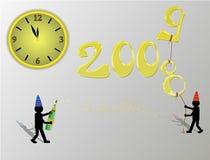 Gelukkig nieuw jaar Stock Foto's