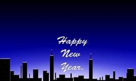 Gelukkig nieuw jaar. Royalty-vrije Stock Foto's