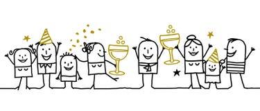 Gelukkig Nieuw jaar! Royalty-vrije Stock Fotografie