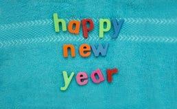 Gelukkig nieuw jaar of de nieuwe viering van de jaar` s vooravond stock afbeeldingen