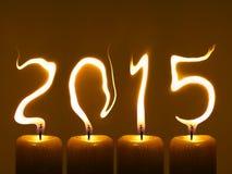 Gelukkig nieuw jaar 2015 - giet Feliciter 2015 Royalty-vrije Stock Foto