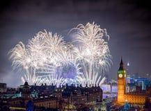 Gelukkig Nieuw jaar Londen stock afbeeldingen